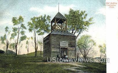 Old Belfrey - Lexington, Massachusetts MA Postcard