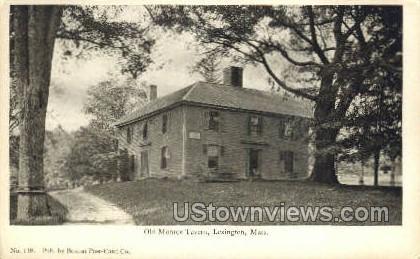 Old Monroe Tavern - Lexington, Massachusetts MA Postcard