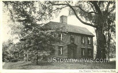 The Munroe Tavern - Lexington, Massachusetts MA Postcard