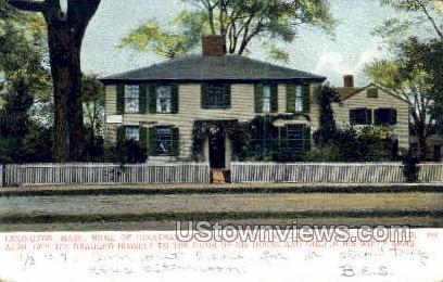 Home of Jonathan Harrington - Lexington, Massachusetts MA Postcard
