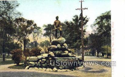 Minute Man - Lexington, Massachusetts MA Postcard