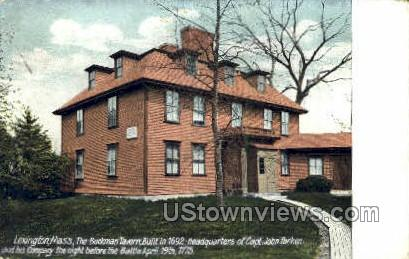 The Buckman Tavern - Lexington, Massachusetts MA Postcard