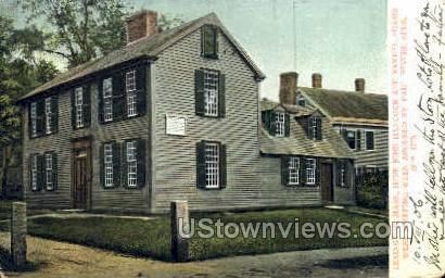 Samuel Adams were Sleeping - Lexington, Massachusetts MA Postcard