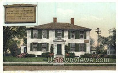 Jonathan Harrington House - Lexington, Massachusetts MA Postcard