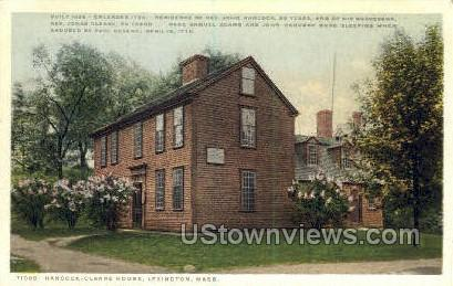 Hancock-Clarke House - Lexington, Massachusetts MA Postcard