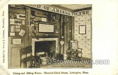 Hancock-Clark House - Lexington, Massachusetts MA Postcard