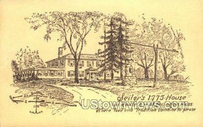 Seiler's 1775 House - Lexington, Massachusetts MA Postcard