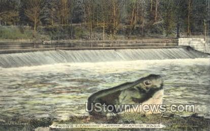 Frog's Landing - Lexington, Massachusetts MA Postcard