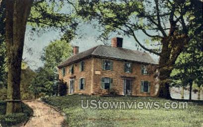 Monroe Tavern - Lexington, Massachusetts MA Postcard