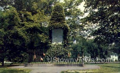 Revolutionary Monument - Lexington, Massachusetts MA Postcard