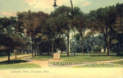 Lexington Green - Massachusetts MA Postcard