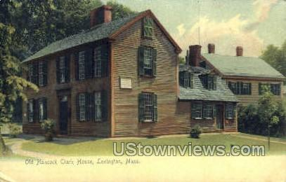 Old Hancock-Clark House - Lexington, Massachusetts MA Postcard