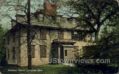 Buckman Tavern - Lexington, Massachusetts MA Postcard