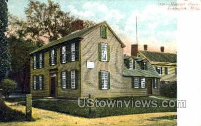 Hancock House - Lexington, Massachusetts MA Postcard