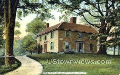 Old Munroe Tavern - Lexington, Massachusetts MA Postcard