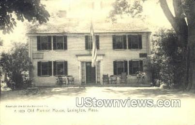 Old Munroe House - Lexington, Massachusetts MA Postcard