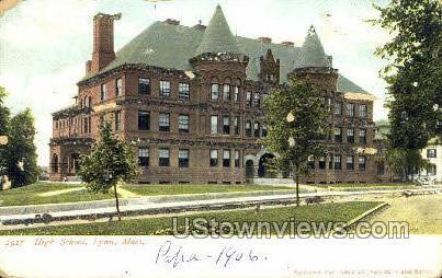 High School - Lexington, Massachusetts MA Postcard
