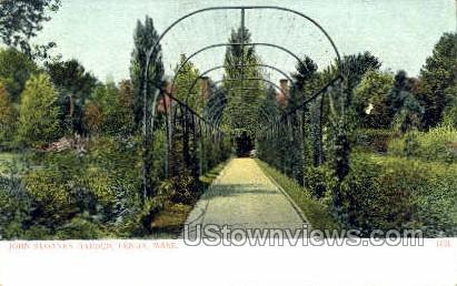 John Sloanes Garden - Lexington, Massachusetts MA Postcard