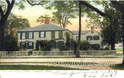 Harrington House - Lexington, Massachusetts MA Postcard