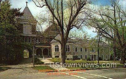 Church on the Battle Green - Lexington, Massachusetts MA Postcard