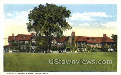 Mrs. W. D. Sloane's Home - Lenox, Massachusetts MA Postcard
