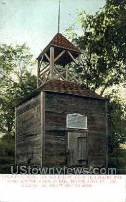 The Old Belfry - Lexington, Massachusetts MA Postcard