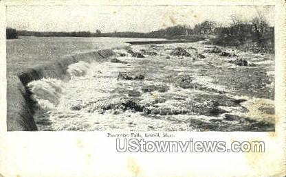 Pawtucket Falls - Lowell, Massachusetts MA Postcard