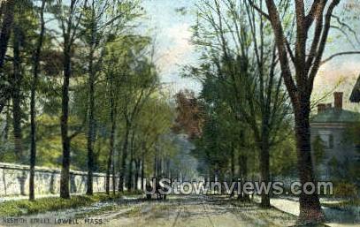 Nesmith St. - Lowell, Massachusetts MA Postcard