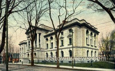 Court House - Lowell, Massachusetts MA Postcard