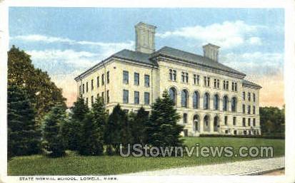 State Normal School - Lowell, Massachusetts MA Postcard