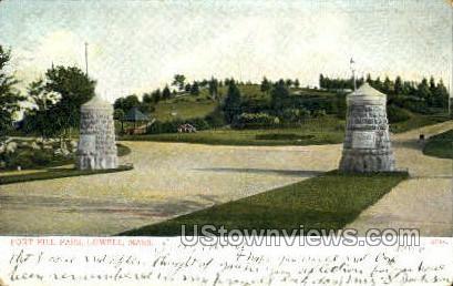 Fort Hill Park - Lowell, Massachusetts MA Postcard