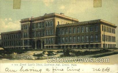 Lowell Textile School - Massachusetts MA Postcard