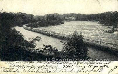 Merrimac River - Lowell, Massachusetts MA Postcard