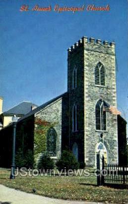 St. Anne's Episcopal Church - Lowell, Massachusetts MA Postcard