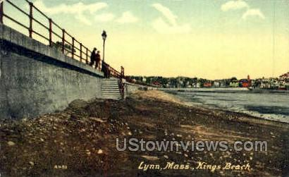 Kings Beach - Lynn, Massachusetts MA Postcard