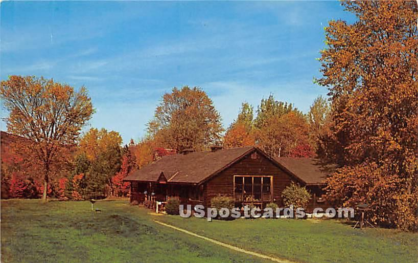 Trailside Mueseum - Lenox, Massachusetts MA Postcard