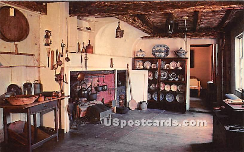 Kitchen of the Buckman Tavern 1709-1714 - Lexington, Massachusetts MA Postcard