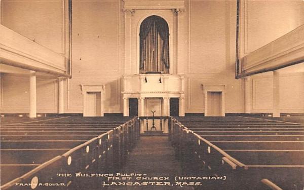 The Bulfinch PulpitLancaster, Massachusetts Postcard