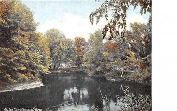 Nashua River Lancaster, Massachusetts Postcard