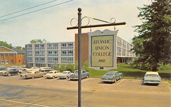 Atlantic Union CollegeLancaster, Massachusetts Postcard