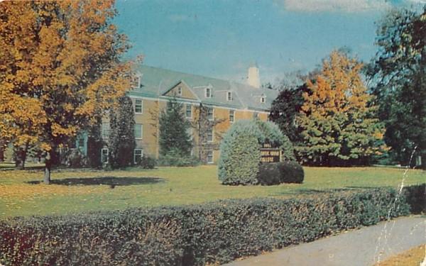 Rachel Preston HallLancaster, Massachusetts Postcard