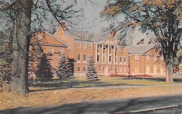 Administration BuildingLancaster, Massachusetts Postcard