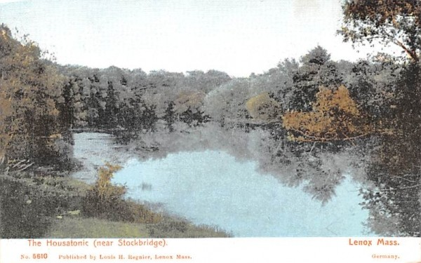 The HousatonicLenox, Massachusetts Postcard