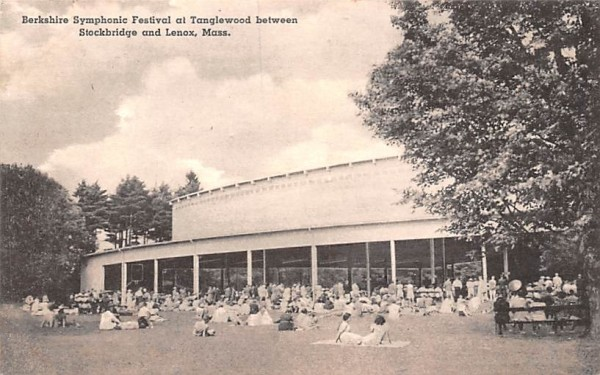 Berkshire Symphonic Festival at TanglewoodLenox, Massachusetts Postcard