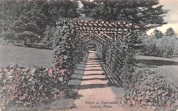 Arbor at AspinwallLenox, Massachusetts Postcard