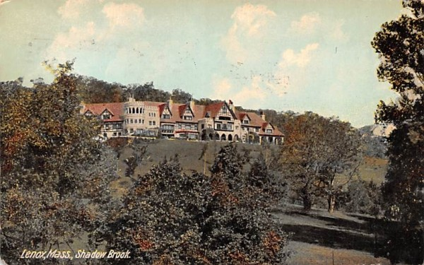 Shadow BrookLenox, Massachusetts Postcard