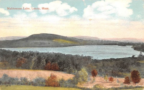 Mahkeenac LakeLenox, Massachusetts Postcard