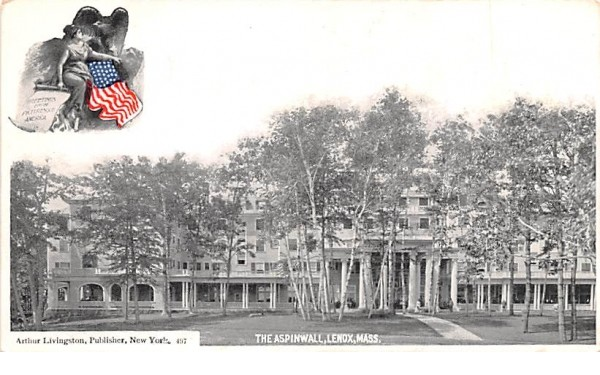 The AspinwallLenox, Massachusetts Postcard