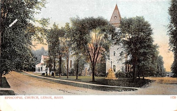 Episcopal ChurchLenox, Massachusetts Postcard