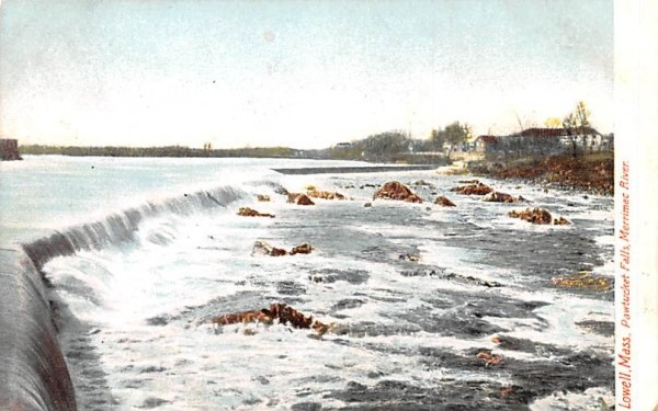 Pawtucket FallsLowell, Massachusetts Postcard